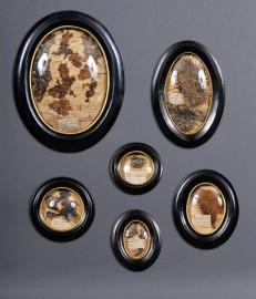 Cabinet de curiosités - Herbiers dans cadres Sorcières