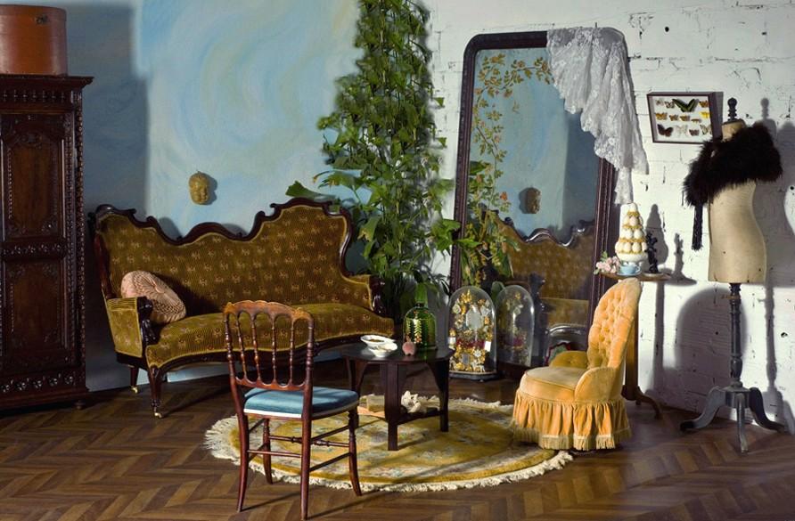 Décoration retro, style baroque, idées déco rétro, meubles anciens ...