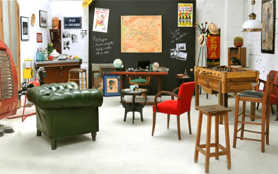 Meubles ann es 50 mobilier ann es 50 meuble ann e 50 fauteuils ann es 50 - Objets des annees 50 ...