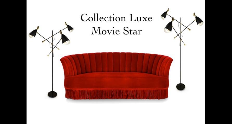 Une offre unique de meubles de luxe contemporain au design mid century esprit movie star for Mobilier contemporain luxe
