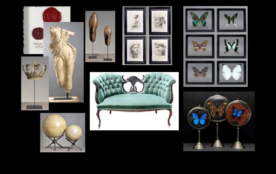 Maison de d coration int rieure haut de gamme vente unique de mobilier objets d 39 art et objets - Cabinet de curiosite contemporain ...