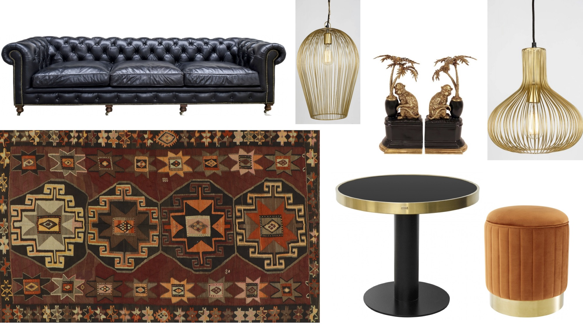 Collection Mobilier Arteslonga Mood Board 2019