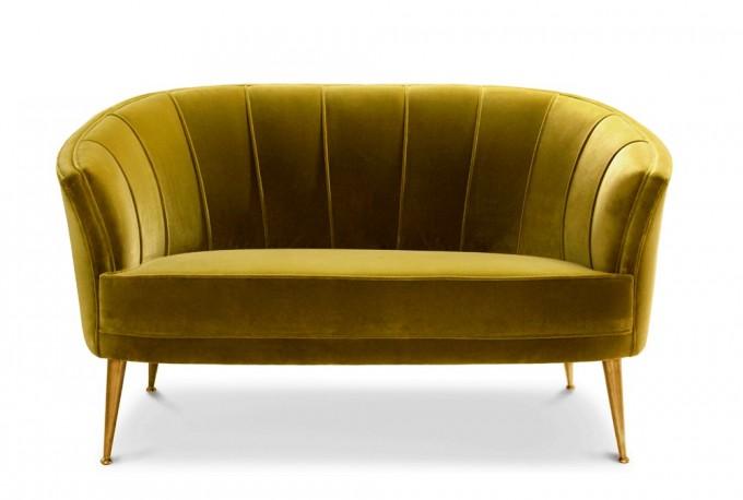 Canapé Garbo Mid Century Design