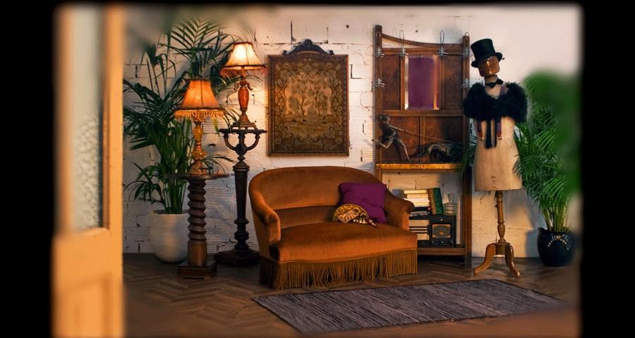 D coration int rieure maison napol on iii 1900 1920 xixeme meubles objets anciens for Maison 1900 decoration